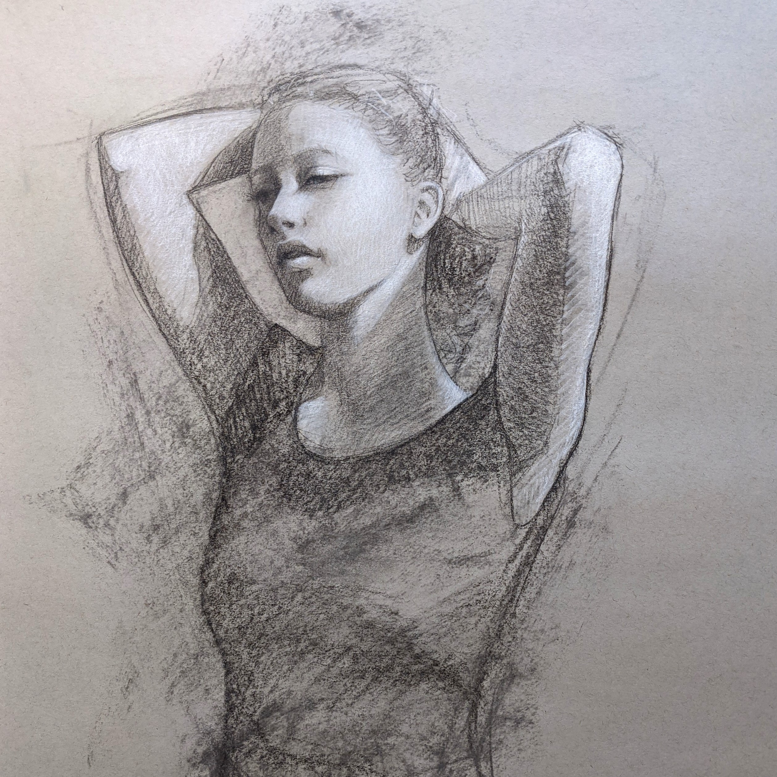 Taylor drawing by artist Lisa Larrabee